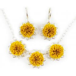 Dandelion Jewelry Set