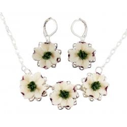 Three Dogwood Jewelry Set