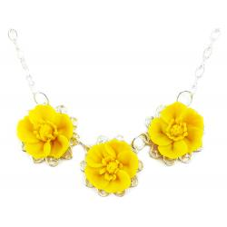 Trio Buttercup Necklace