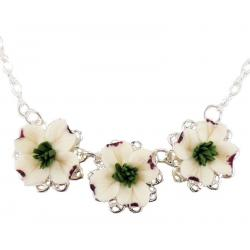 Trio Dogwood Necklace