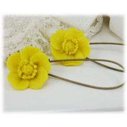 Buttercup Drop Earrings