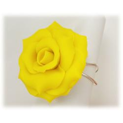 Yellow Rose Ring