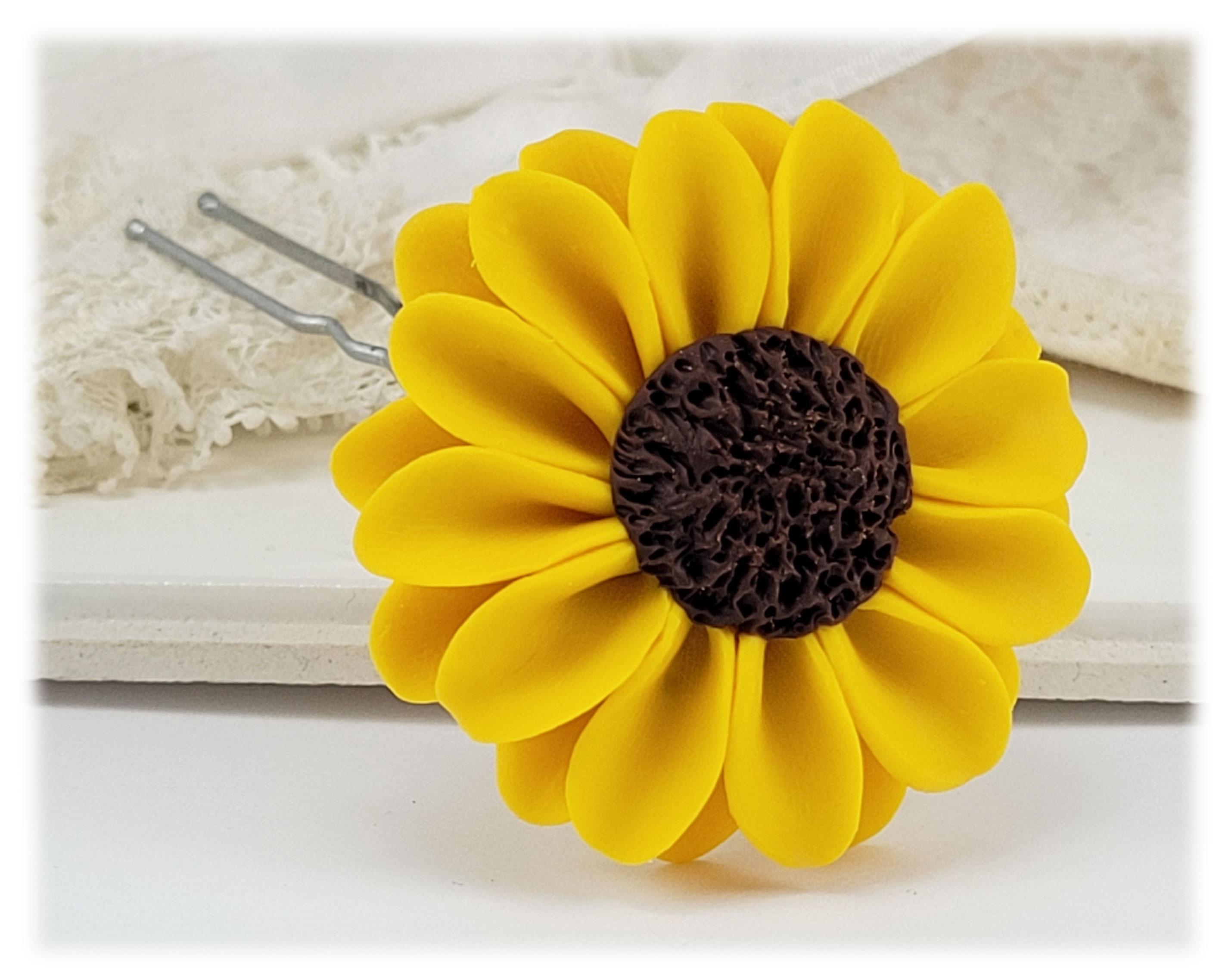 Sunflower jewelry a collection of handmade sunflower designs mightylinksfo