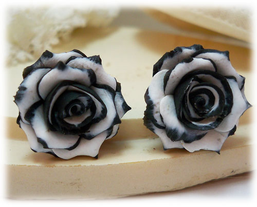 Как сделать розу чёрной 62